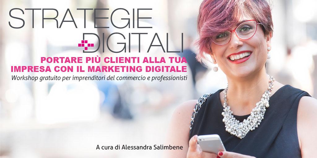 Strategie Digitali – portare più clienti alla tua impresa con il marketing digitale