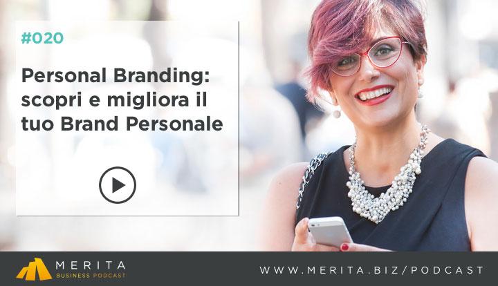Personal Branding: Giorgio Minguzzi intervista Alessandra Salimbene per il podcast MERITA