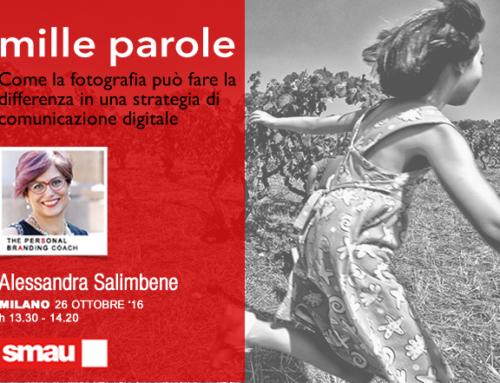 Mille parole a SMAU Milano, il 26 ottobre 2016 alle 13.30