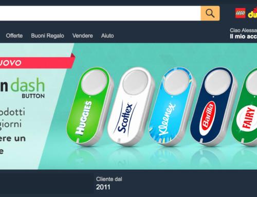 Amazon Dash: il commercio si rivoluziona con un bottone