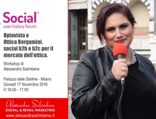 Due mie storie al Social Case History Forum 2016 – 17 Novembre 2016 – H 16 – Palazzo delle Stelline