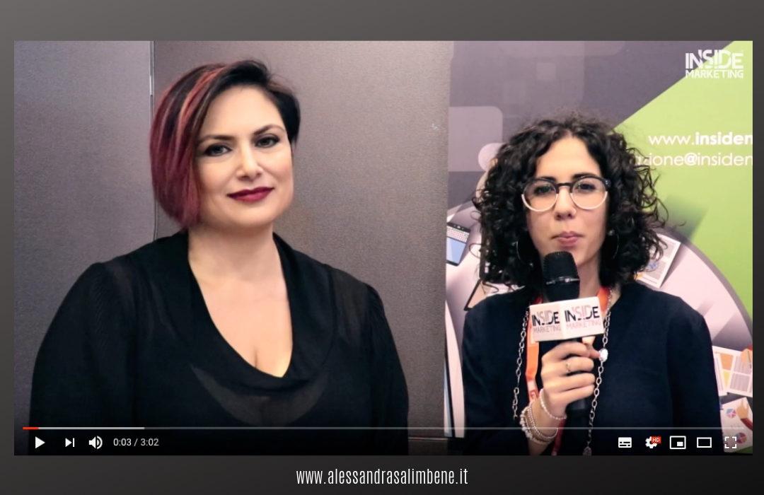 Alessandra Salimbene parla di Social Selling al microfono di Inside Marketing (Smau Napoli 2018)